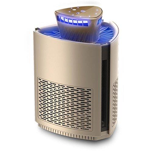 Mörder Nanometer Anti-Moskito-Trapping (UV-LED-Lampe, Poison-Free strahlungsfrei, Ruhige Kontrollen Insekten wie Moskitos, verwenden Innenräume, um das Haus), Gold ()