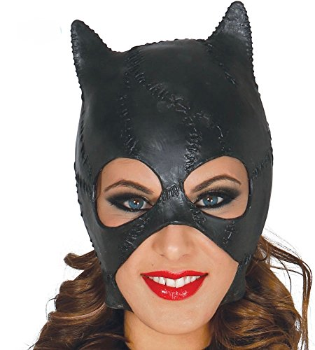 x-Maske Katze Cat Kostüm Damen Woman (Halloween-kostüme Cat Woman)