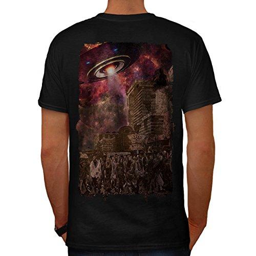 Klon Armee Kostüme (Armee Toter Mann UFO Zombie Tot Monster Herren M T-shirt Zurück |)