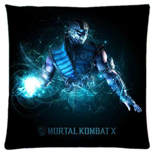 Spiele Sub Zero aus der Game MORTAL KOMBAT X Custom Rechteck Home Dekorative Bett Kissen 45,7x 45,7cm-ruckey Wone -