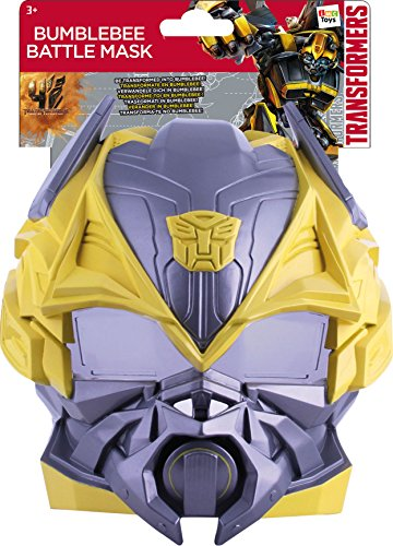 Transformer Kostüm Kind - IMC Toys 387164TR - Transformers Battle Maske, Bumblebee