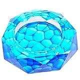 Decoration - ashtray NAUY- Crystal cenicero de cristal boutique creativa Rey de la moda regalos cenicero - adoquines (Tamaño : 20cm)