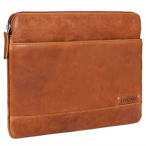 STILORD 'Robb' Funda Piel Estilo Vintage Tablet MacBook