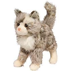 Cuddle Toys 1864- Gato de peluche, felpa, tamaño grande, 30 cm, color marrón