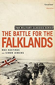 The Battle for the Falklands (Pan Military Classics) by [Hastings, Max, Jenkins, Simon]