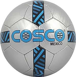 Cosco Mexico Football, Size 5  (Silver/Blue)