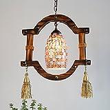 Deckenleuchter, Retro Kristall Lampe, Böhmische Persönlichkeit Farbe Licht, Flur Bar Restaurant Beleuchtung, Warmes Licht