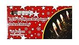 * 16er LED-Weihnachtskerzen-Lichterkette Weihnachtskette, Weihnachtsdeko