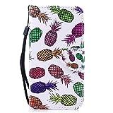 Leder Galaxy S6/S6 Edge/S6 Edge Plus/S7/S7 Edge Hülle, Flip Case Wallet Cover,Brieftasche Case Tasche mit Kartenfächer und Bargeld (2, Samsung Galaxy S6 Edge Plus)