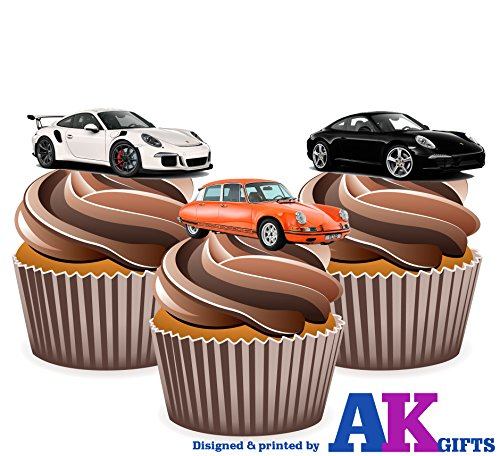 12-x-voiture-de-sports-porsche-decorations-comestibles-en-gaufrette-pour-cupcakes