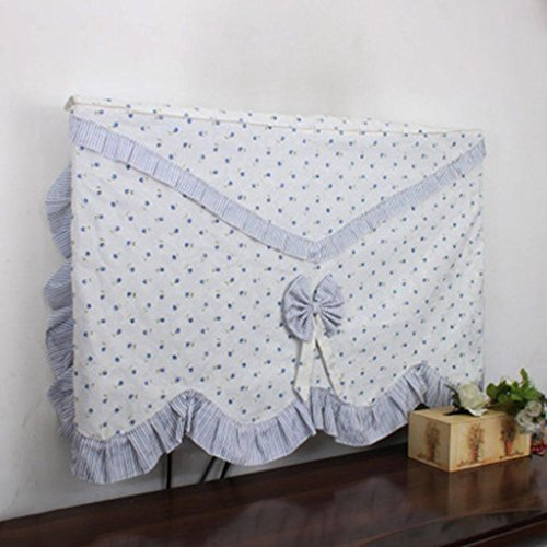 Wall Hanging Liquid Crystal TV Cover Hanging TV Cover Cloth 42 55 Inch Dust Cover   42 inches   a