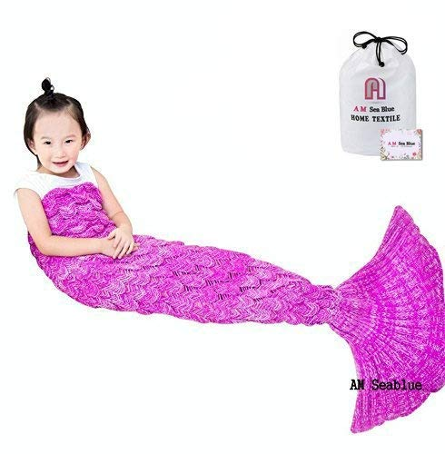 2c39c9de8 Mermaid Tail Blanket Kids Handmade Soft