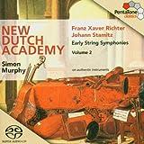 Richter/ Stamitz: Early String Symphonies, Vol. 2 [Hybrid SACD] by JOHANN STAMITZ (2004-03-23)