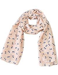 fablcrew niños bufanda de moda lazo de corbata pañuelo de calentador de bufanda para otoño invierno