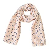 Zedtom Children's Candy Colours Girls Scarf Fashion Cute Warm Scarves (140cm*40cm)