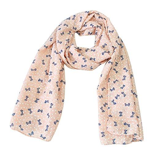 zedtom-Candy-colori-bambina-sciarpa-sciarpe-moda-Cute-Calda-140-40-rosa-Pink-140cm40cm