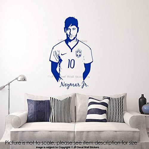 grand-neymar-junior-autocollant-dart-de-mur-barcelona-footballeur-sports-celebrity-autocollant-en-vi