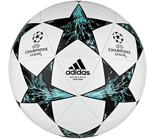 adidas Champions League Finale–Balón de fútbol, color blanco.