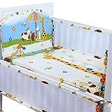Set of 4 Nursery Baby Bassinet/Crib Bedd...