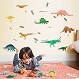JUNMAONO Dinosaurier Wandaufkleber/Jurassic Park Karikatur Wandgemälde/Wand Poster/Wandbild Aufkleber/Wandbilder/Wandtattoo/Pinupbild/Beschriftung/Pad einfügen/Tapete/Tapezieren/Tapeten/Wand Zeitung/Wandmalerei/Haftnotiz/Fühlen Sie sich frei zu kleben/Instant Aufkleber/3D-Stereo-Wandaufkleber