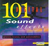 101 Digital Sound Effects - Planes- Trains And Automobiles [Digitale Sound-Effekte, Flugzeuge, Eisenbahn, Autos, Automobile, 1 AUDIO-CD, Stereo, 12147]