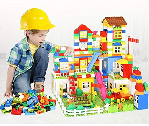 REEP Kinder-Bausteine 3-8 Jahre alt Pädagogische Bausteine Puzzle DIY Spielzeug Kindergeschenke - EIN kompletter Satz von 140 Teilen,A