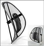#8: JannatCar Seat Massage Chair Back Lumbar Support Set of 2