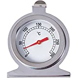 Okayji Stainless Steel Kitchen Oven Thermometer 300 Centigrade Dial Cooking Thermometer Kitchen Meat Tool Baking Thermometer