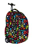 St.Right Super Zaino Trolley Scuola Yes or No per Maschio o FEMMINA Unisex Ragazzi