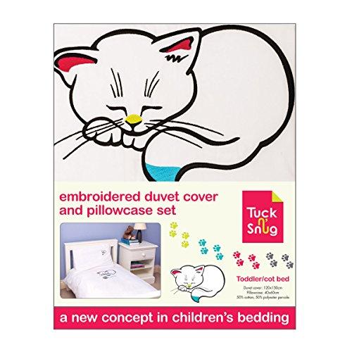 Tuck n 'Snug Kleinkind/Kinderbett' Kitty The Kitten 'Bettbezug und Kissenbezug Set