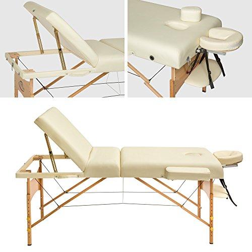 TecTake Massageliege –  10 cm Polsterung - 2