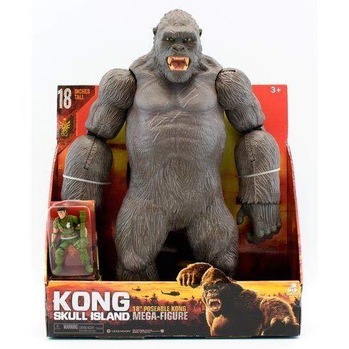 Kong Skull Island King 46cm Kong Mega Action Figur -