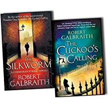 Robert Galbraith & J.K.Rowling Cormoran Strike 2 Books Collection Pack Set (The Cuckoo's Calling, The Silkworm-Hardcover)
