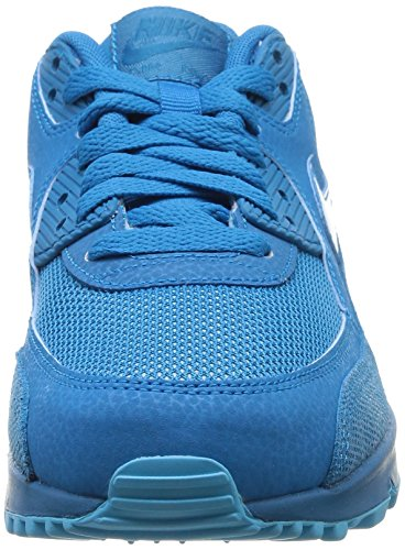 Nike WMNS AIR MAX 90 PREM Damen Sneakers Mehrfarbig (LT BLUE LACQUER/CLEARWATER)