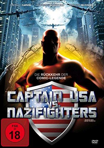 Captain USA vs. Nazifighters (DVD), DVD