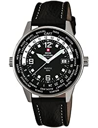 Swiss Military By Chrono Analogue Black Dial Men's Watch SM34007.03