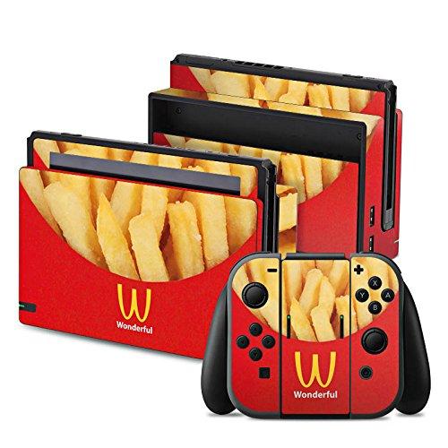nintendo-switch-folie-skin-sticker-aus-vinyl-folie-aufkleber-pommes-fast-food-frenchfries