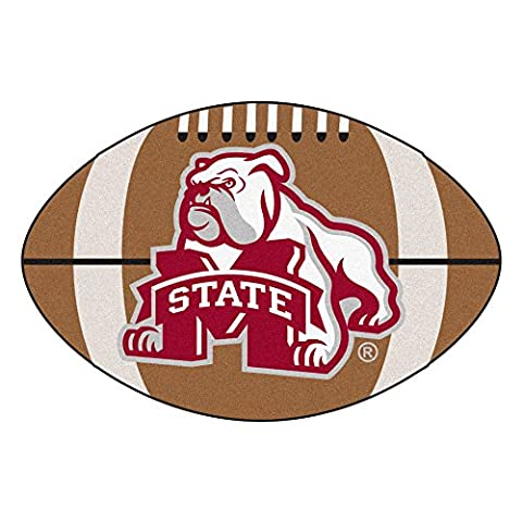Fanmats 2094 Mississippi State University Football Rug