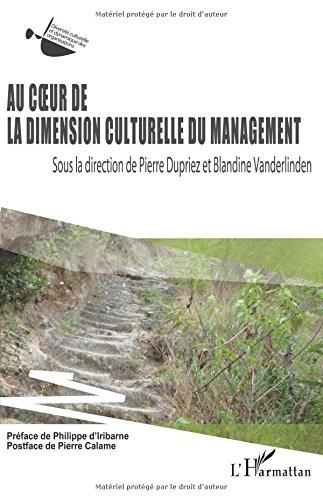 Au coeur de la dimension culturelle du management par Blandine Vanderlinden
