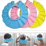 Cristoferv Baby Visor Baby Duschhaube Baby Dusche Kappe Anpassung Vorhang Shampoo Schutz für Kinder Kappe 3 Monate - 6 Jahre