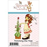 Little Darlings Briefmarken–Gesättigte Kanarischen kleinen Lieblinge unmontiert Gummi Briefmarken, Backyard Allgemeine Baum beschneiden