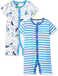 Mothercare Baby Boys' Regular Fit Romper Suit (Pack of 2)