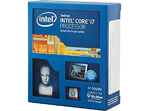 Intel i7-5820K - Procesador (3.3 GHz, 15 MB, 64-bit, 6 núcleos)