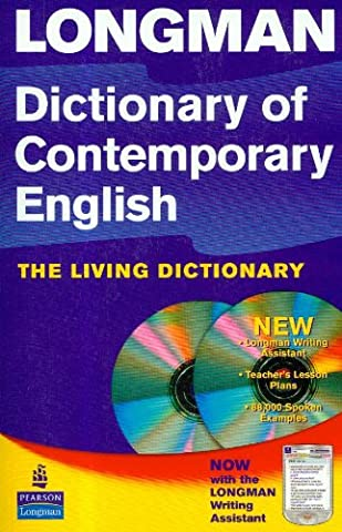 Longman Dictionary of Contemporary English 4th Edition 2005 Update Paper & CD-ROM (new CD-ROM