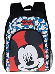 Idea Regalo - Disney Mickey Mouse - Zaino per Ragazzi - Topolino