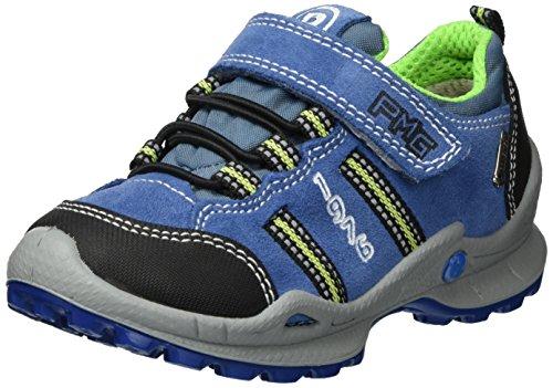 Primigi Pfogt 7636, Sneakers Basses Garçon Bleu (Bluet/jeans/ner)