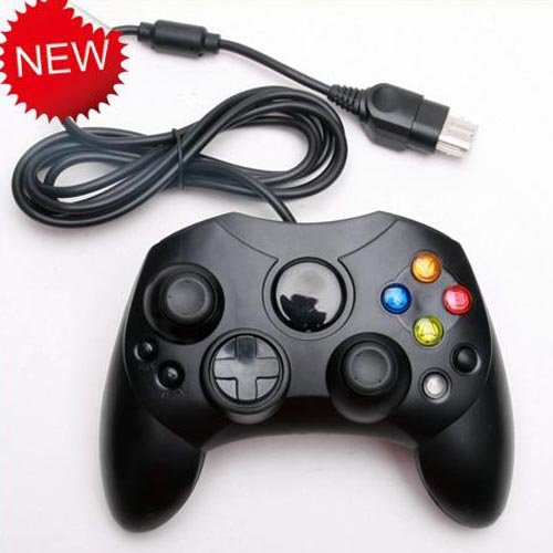 Generic Black Wired Classic Gamepad Joypad Controller For Xbox Console One piece