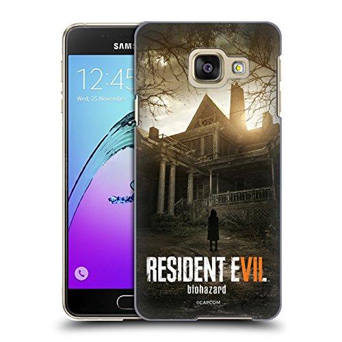 Head Case Designs Offizielle Resident Evil Bürgerhaus Spiel 7 Schlüssel Kunst Ruckseite Hülle für Samsung Galaxy A3 (2016)