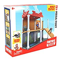 Fortnite 63511 Battle Royale Collection Mega Fort and 2 Exclusive Figures Tricera Ops and Blue Squire, Multicoloured