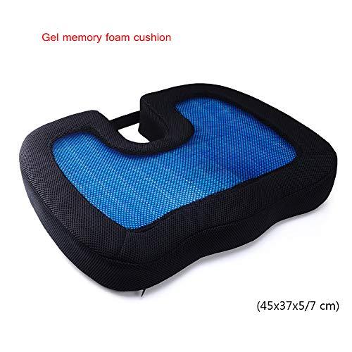 LOVEHOUGE Cuscino Ortopedico Memory Foam Sedile ergonomico Coccyx per bassorilievo, tailcone e scialo Relief - Cuscino Sella Portatile per Ufficio, Auto, Sedia a rotelle,Style5